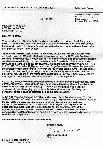 Nih rejects heart disease research proposal for Farcical failure